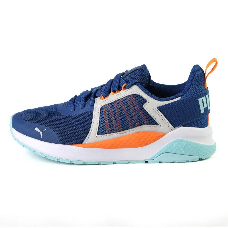 PUMA Anzarun Cheer Jr 鞋帶款 大童鞋 藍色 NO.R6405