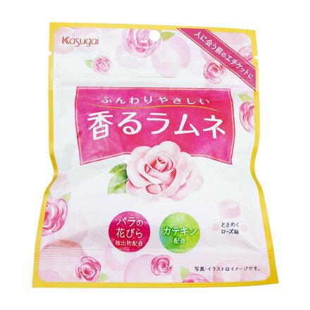 [敵富朗超市]春日井 玫瑰風味汽水糖(賞味期限2018.08.31)