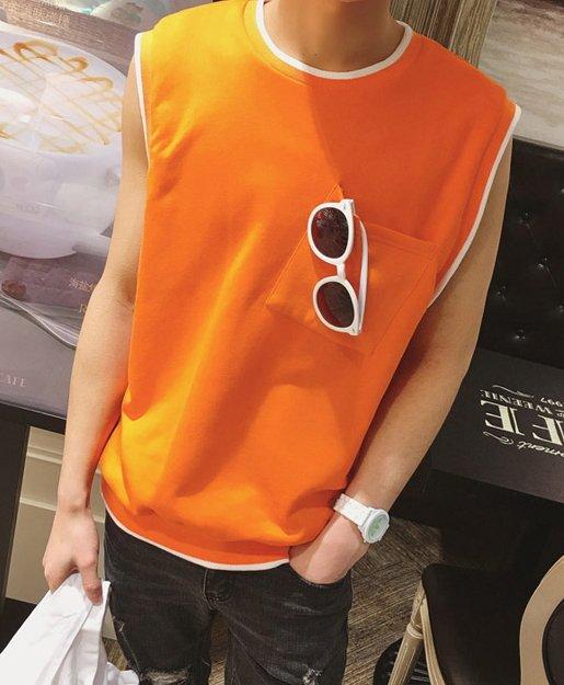 <br/><br/> 直購 【JP.美日韓】韓國棉質 寬肩 背心 多色 上衣 短袖 無袖<br/><br/>