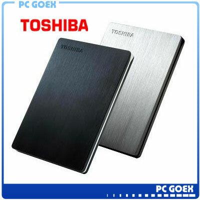 東芝 TOSHIBA 2.5吋 1TB CANVIO Slim-ll外接式硬碟☆軒揚pcgoex☆