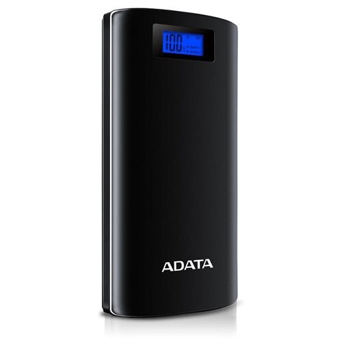 ADATA P20000D 20000mAh Power Bank with Digital Display Black (AP20000D-DGT-5V-CBK) 0