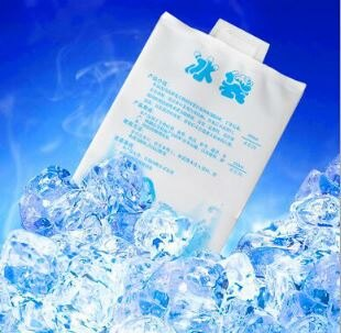 400ml 航空冰袋理降溫注水冰袋/冰包母乳保鮮冷藏降溫冰袋/保溫袋/冰敷袋(1入) 5元