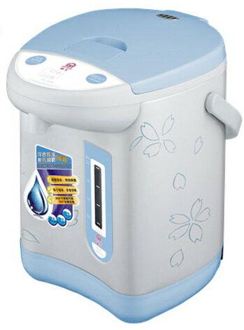 ✈皇宮電器✿晶工牌3.0L電動+碰杯熱水瓶JK-3830 防乾燒 過熱保護 #304不鏽鋼上蓋與內膽採用