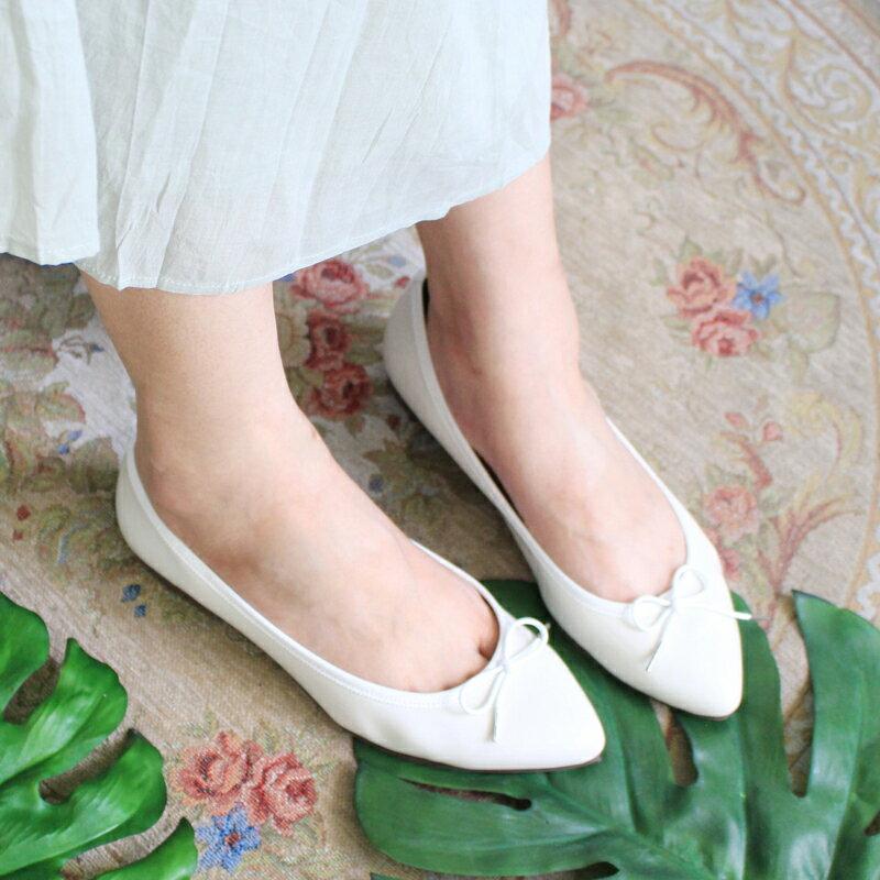 【現貨】【F2-17525P】日本製防水系列-尖頭芭蕾_Shoes Party 3