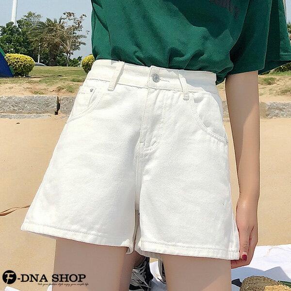F-DNA★丹寧闊腿A字牛仔短褲(4色-26-32碼)【ET12692】 5