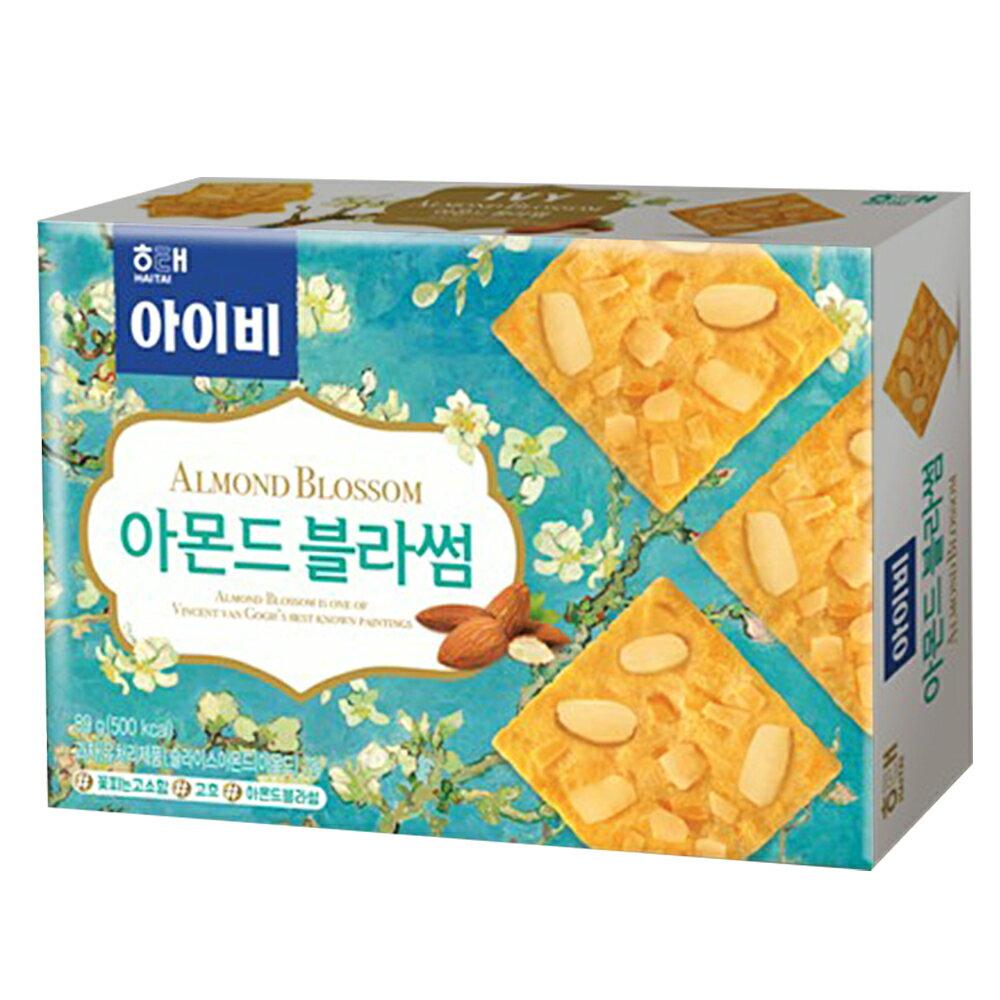 【HAITAI海太】杏仁片餅乾(89g)