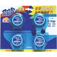 世界地球日,環保愛地球到花仙子藍藍香馬桶清潔劑65g*4入【愛買】