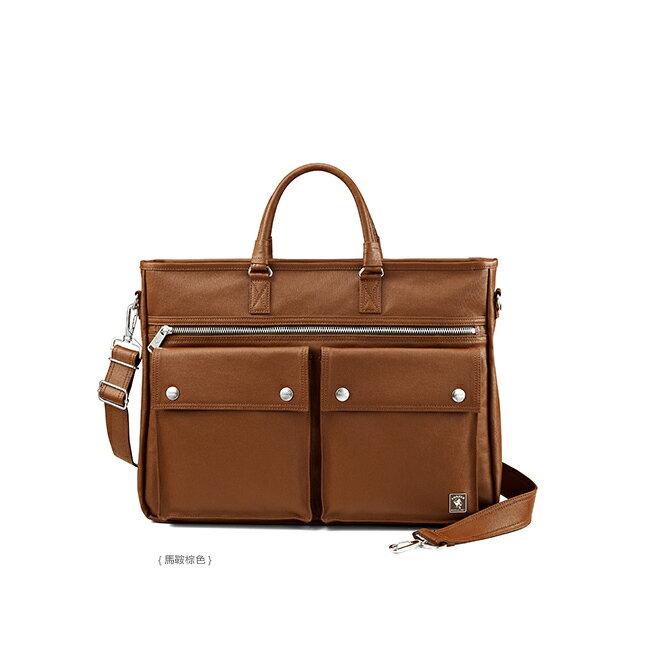 PORTER 復刻新作 MILKY PLUS 品味兩用公事包 - 棕色 保證真品11397-13761