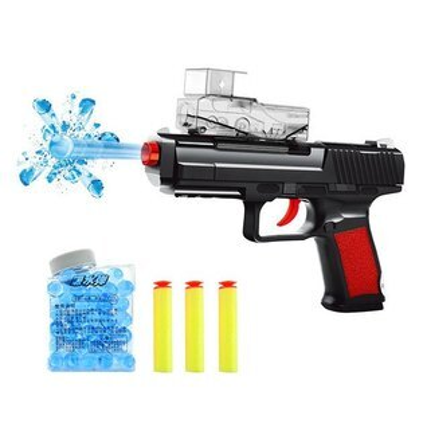 【888便利購】黃金戰狼吸水子彈克拉克手槍(附水子彈+安全軟彈)(XH182)(安全環保)