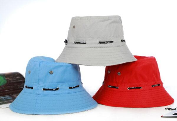 騎跑泳者-漁夫帽遮陽時尚休閒,帽圍可調小,適合各種戶外休閒運動、旅遊、登山、露營,7種顏色可供選擇