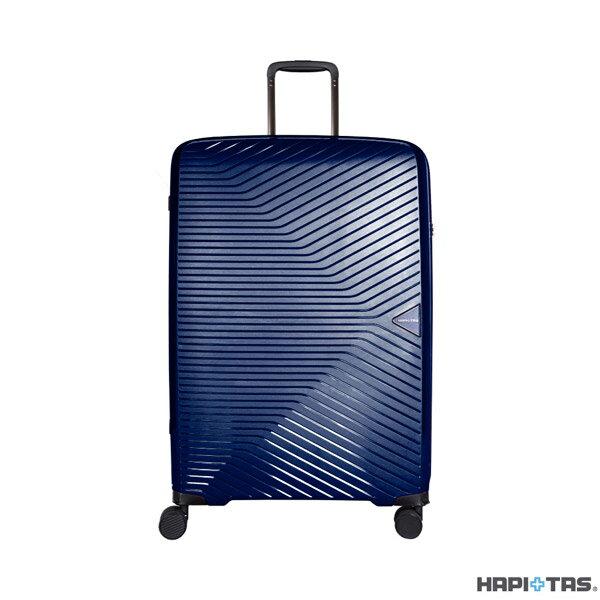 【加賀皮件】CROWN皇冠HAPI+TAS輕量多色PP拉鍊箱旅行箱28吋行李箱HAP2082