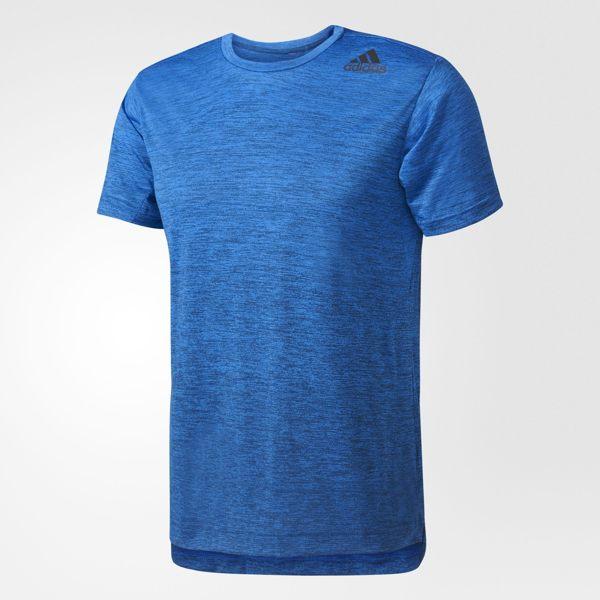 ADIDAS TRAINING FREELIFT GRADIENT 男裝 短袖 慢跑 排汗 透氣 合身 藍 【運動世界】 BK6139