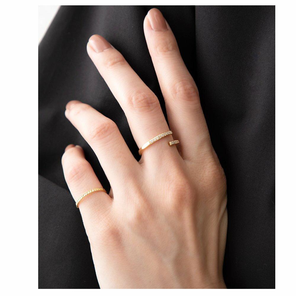 日本Cream Dot  /  簡約鋯石戒指  /  p00012  /  日本必買 日本樂天代購  /  件件含運 4
