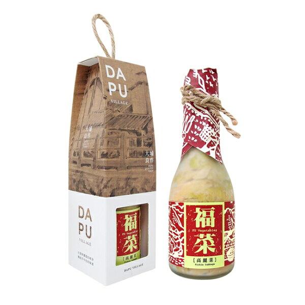 好客HAOKE:《好客-大埔合作社》福菜:高麗菜(共三瓶)(免運商品)_A050019