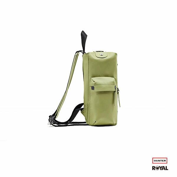 Hunter 新竹皇家Original Rubberised 綠色 防水 橡膠 皮革 後背包 Mini NO.H1668 1