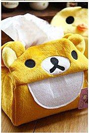 =優生活=日單 拉拉熊 懶懶熊 黃色小雞手工紙巾套 面紙套