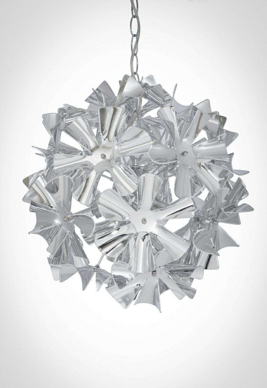 鍍鉻波浪花紋吊燈-BNL00052 1