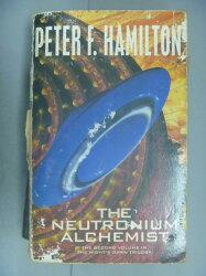 【書寶二手書T4/原文小說_LEF】The Neutronium Alchemist_Peter F. Hamilton