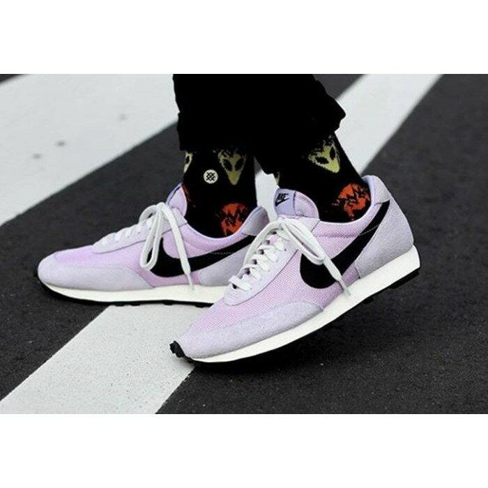 【日本海外代購】Nike Daybreak SP 紫色 粉紫 黑勾 透氣 麂皮 復古 阿甘鞋 周杰倫 男女鞋  BV7725-500