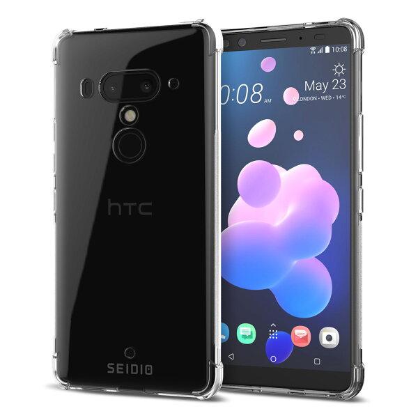 【SEIDIO】HTCU12Plus透明殼手機殼推薦款:四角氣墊輕透手機殼保護殼forHTCU12Plus-OPTIK™