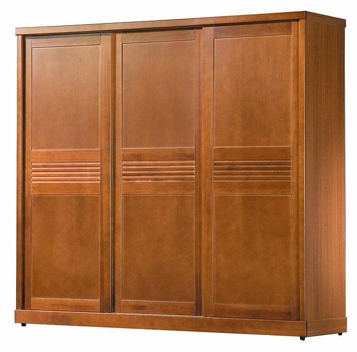 【尚品家具】 HY-A160-01 凱西柚木7x7尺衣櫥