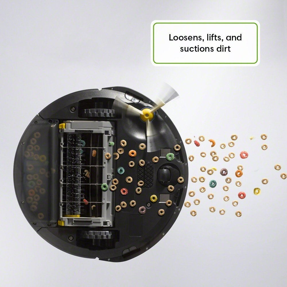 iRobot Roomba 614 Self-Charging Robotic Vacuum Cleaner 3-Stage Cleaning System 1