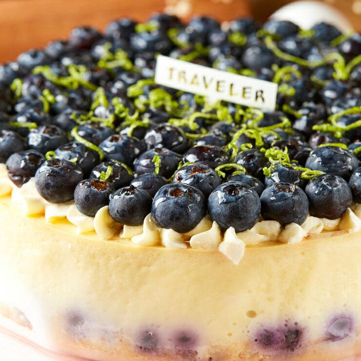 【旅行 Traveler 烘焙】藍莓乳酪6吋 0
