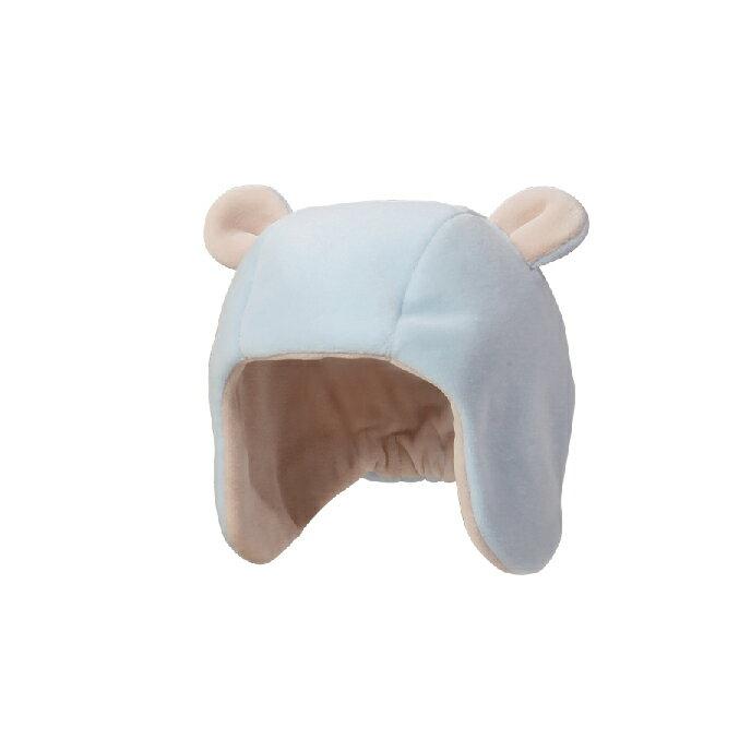 ViVi Baby - 遮耳小熊帽 (藍) 1