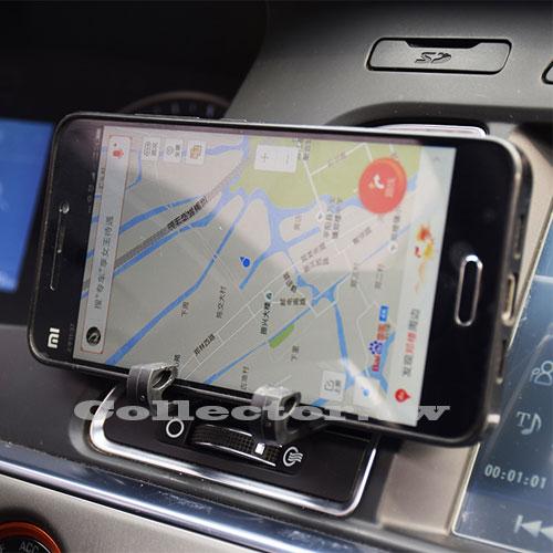 【T17042202】汽車出風口手機支架 衛星導航支架掛鉤 迷你車載掛鉤 出風口支架 2只裝