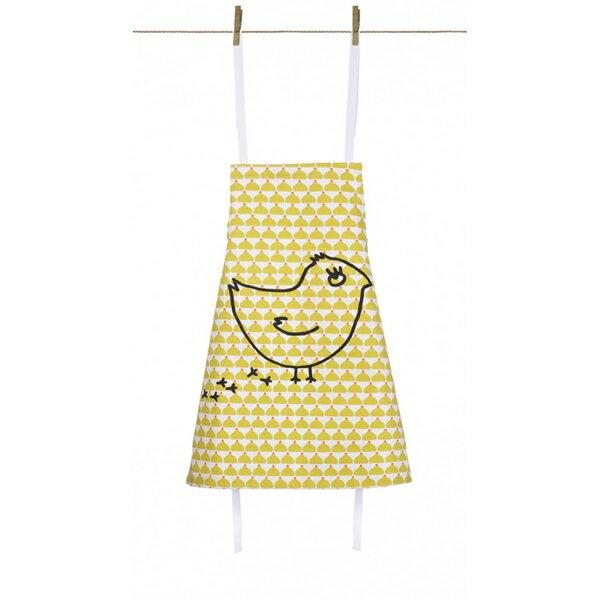 《法國 La Cocotte Paris》廚房的美好時光-孩童圍裙Chic Chick ocre coquito 0