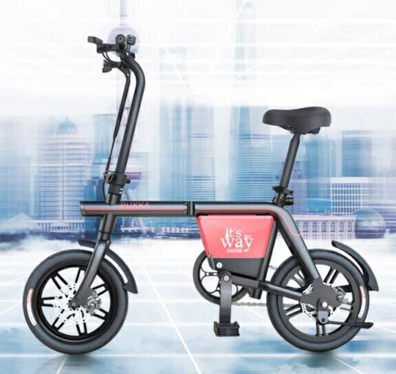 【免運快出】電動車 電動自行車成人折疊式鋰電池助力電瓶車迷妳代駕腳踏電動車  創時代 新年春節送禮