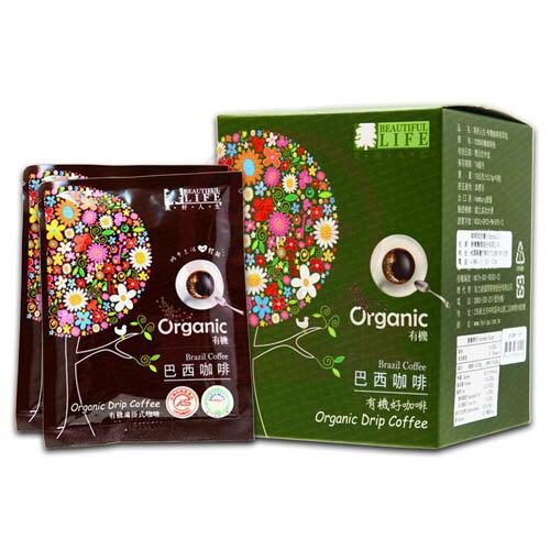 美好人生 有機巴西咖啡耳掛包(10gx8包入)