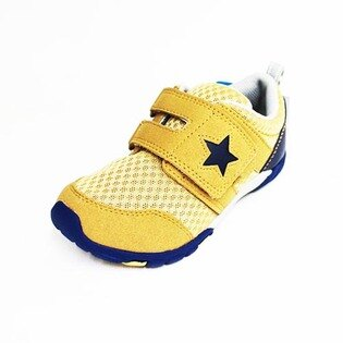 Moonstar日本品牌Carrot機能魔鬼氈童鞋CRC21338卡其[陽光樂活]
