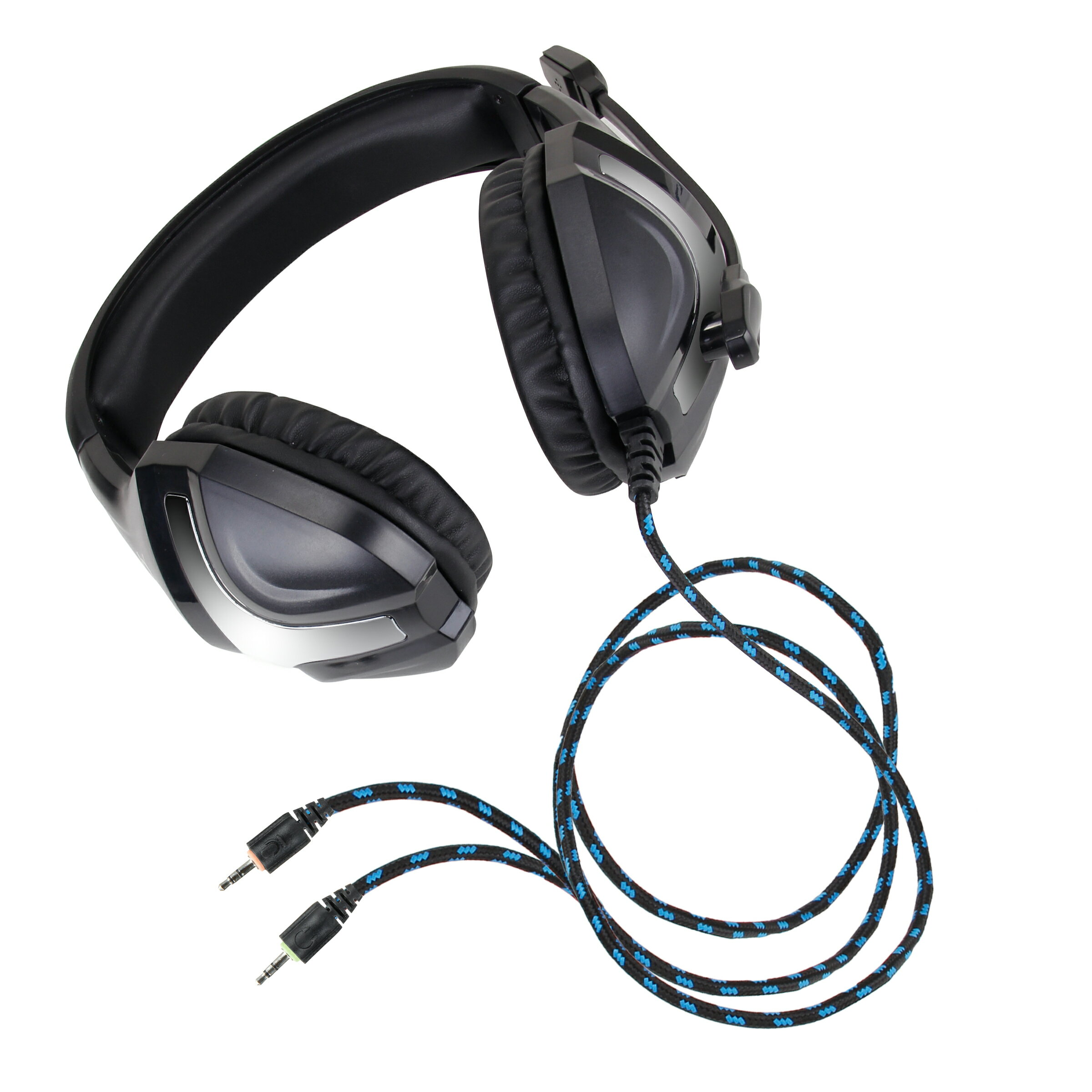 ENHANCE GX-H4 Stereo Gaming Headset with Adjustable Microphone &  Noise-Isolating Earphones 6