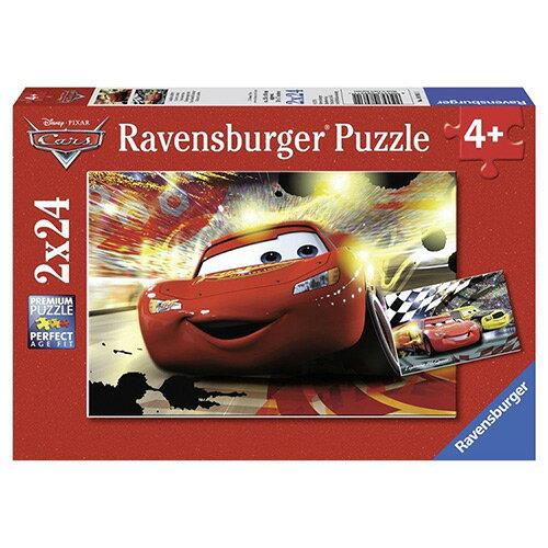 《德國Ravensburger維寶》維寶拼圖-迪士尼CARS(24P*2)