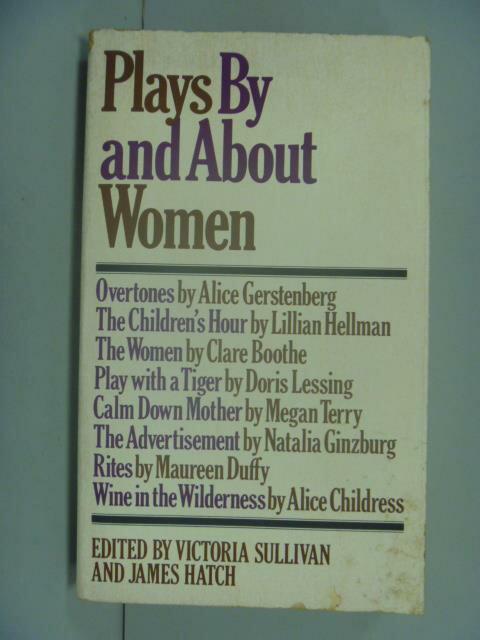 ~書寶 書T2/藝術_GJB~Plays by and about Women_Sulli
