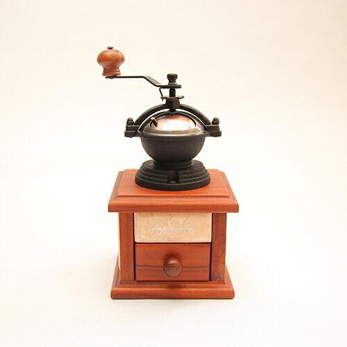Attlee經典手搖式大理石復古磨豆機/咖啡豆機