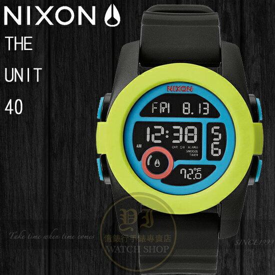NIXON 實體店The Unit 40潮流玩味-A490-1953公司貨/溫度/極限運動/禮物/新年