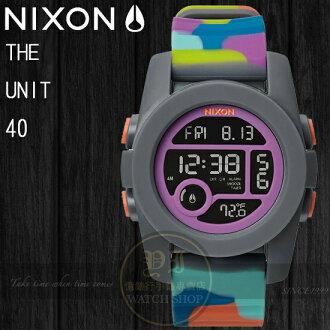 NIXON 實體店The Unit 40潮流玩味- NEO PREEN A490-1988公司貨/溫度/極限運動