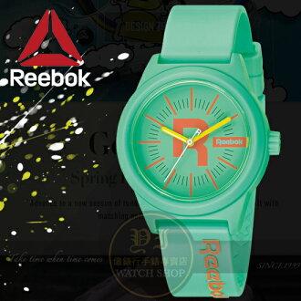 Reebok運動潮流品牌CLASSIC R-DROP系列腕錶-綠/38mm RC-CDR-L2-PTPT-TC公司貨