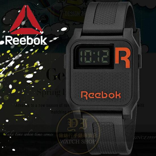 Reebok運動潮流品牌VINTAGE-NERD系列復刻腕錶-黑/35mm RC-VNE-U9-PBPB-BO公司貨