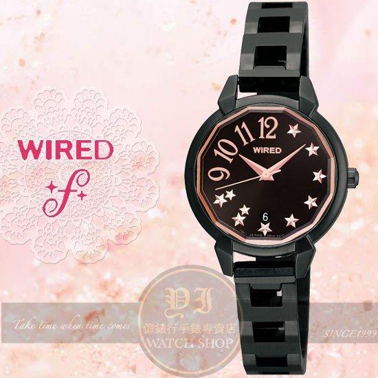 WIRED 原創愛戀切割鑽面 女錶~28mm 7N82~X010SD 貨 200只 SEI