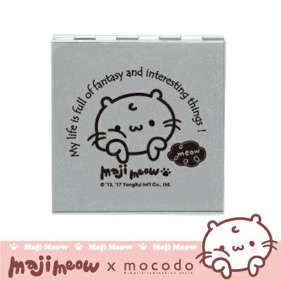 麻吉貓摺疊鏡|AM608|摺疊鏡 鏡子 鏡 化妝鏡 隨身鏡 雙面鏡 捷運貓【mocodo 魔法豆】