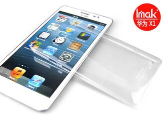 華為Huawei Ascend Mate X1 艾美克IMAK羽翼水晶殼 mate透明背殼 DIY素材殼可貼鑽 【清倉】