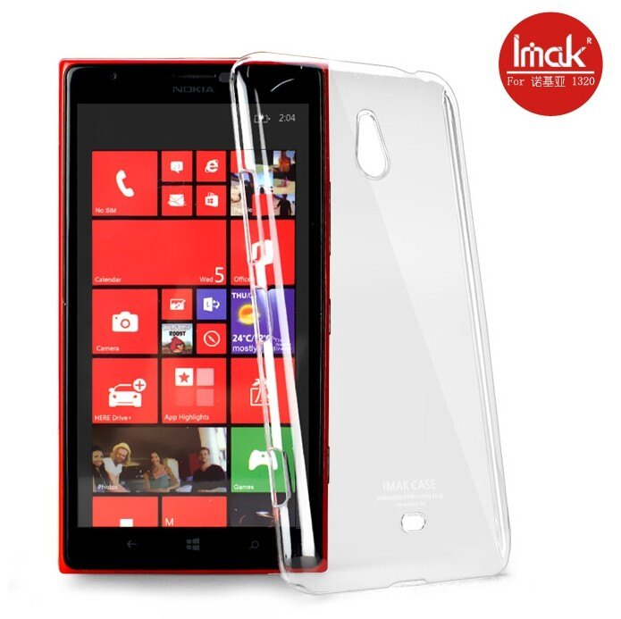 諾基亞Lumia 1320水晶殼 艾美克imak羽翼水晶殼NOKIA 1320 透明保護殼保護套  DIY素材殼可貼鑽 【清倉】