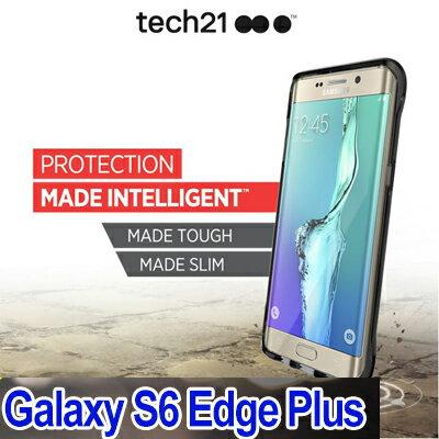 Tech21 英國超衝擊 Evo Check Samsung S6 Edge+ 防撞硬式透明保護殼