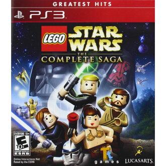 (全新現貨)PS3 樂高星際大戰:武林大會 英文美版 (附道具密碼表) Lego Star Wars saga