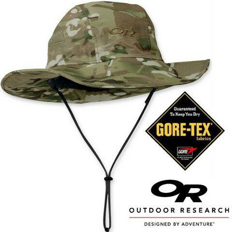 Outdoor Research 防水透氣遮陽西雅圖圓盤帽 Multicam Seattle Sombrero OR82132 軍規迷彩GoreTex 243506