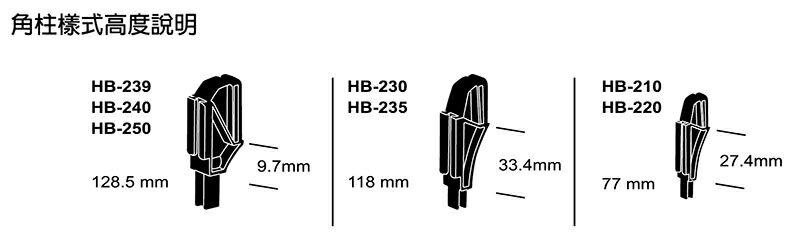 【YUDA】樹德櫃 HB-210 分類置物盒(附4支腳柱)  /  耐衝擊分類置物盒  /  收納盒 4