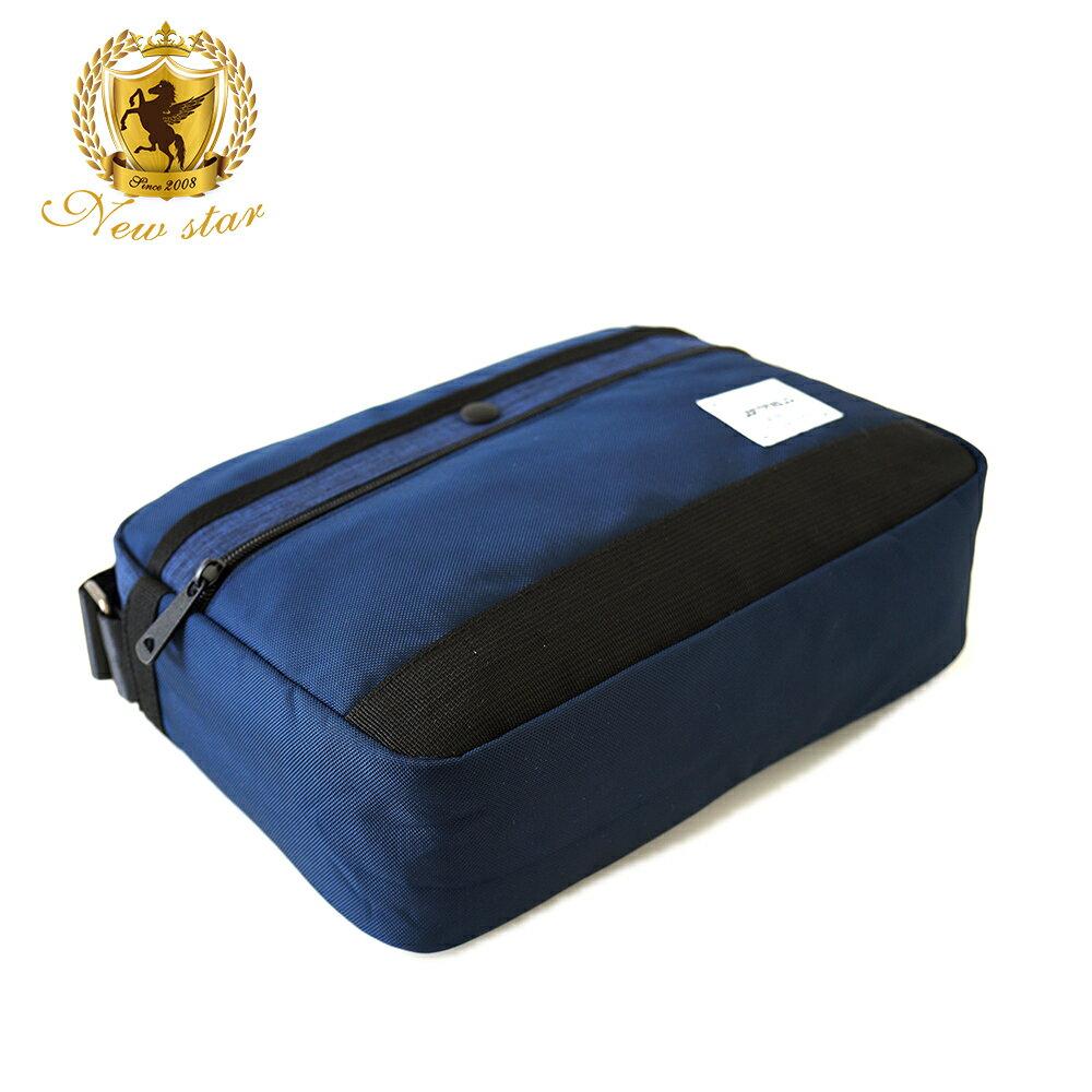 側背包 時尚拼接防水前口袋斜背包包 NEW STAR BL135 3